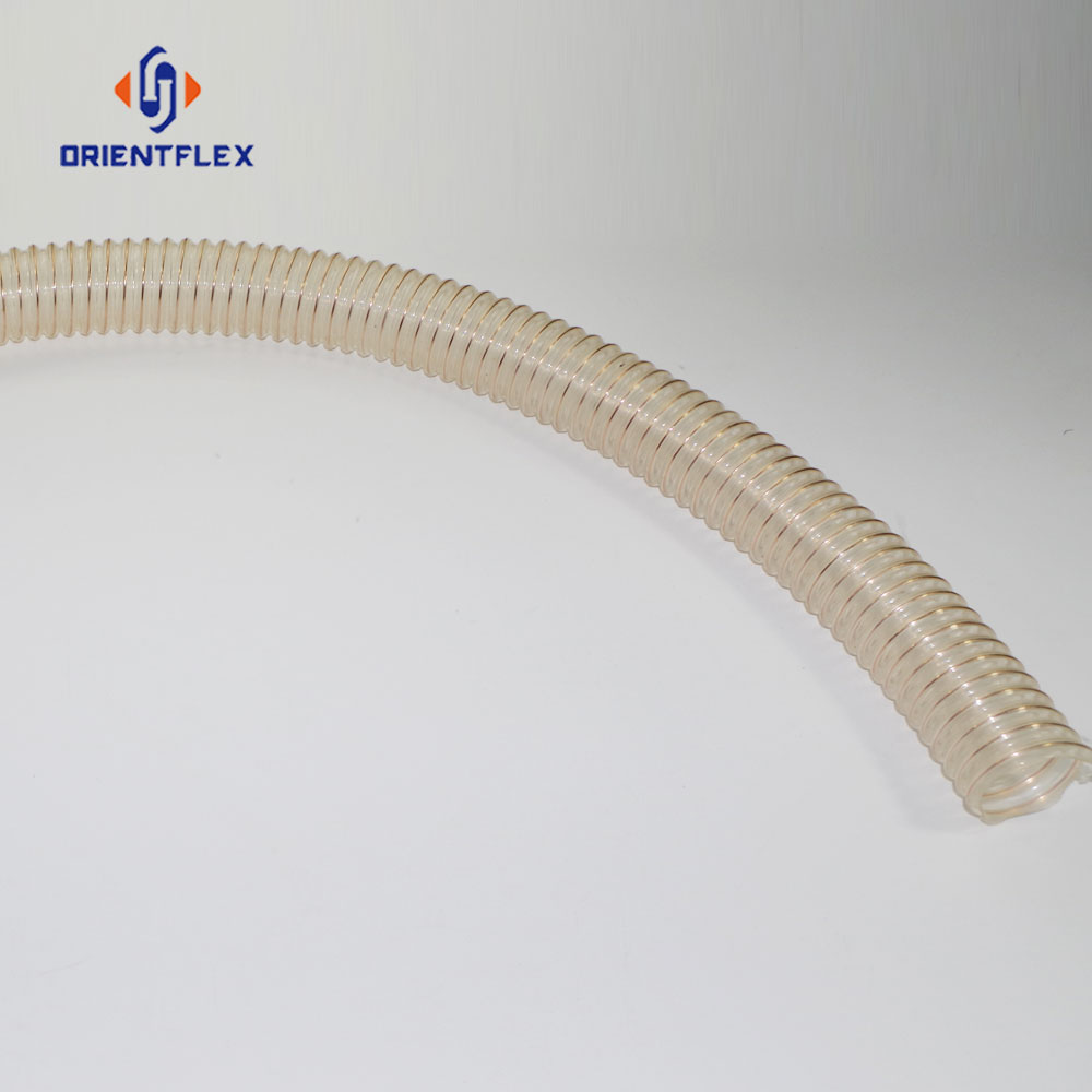 6 inches pu flexible ducting hose