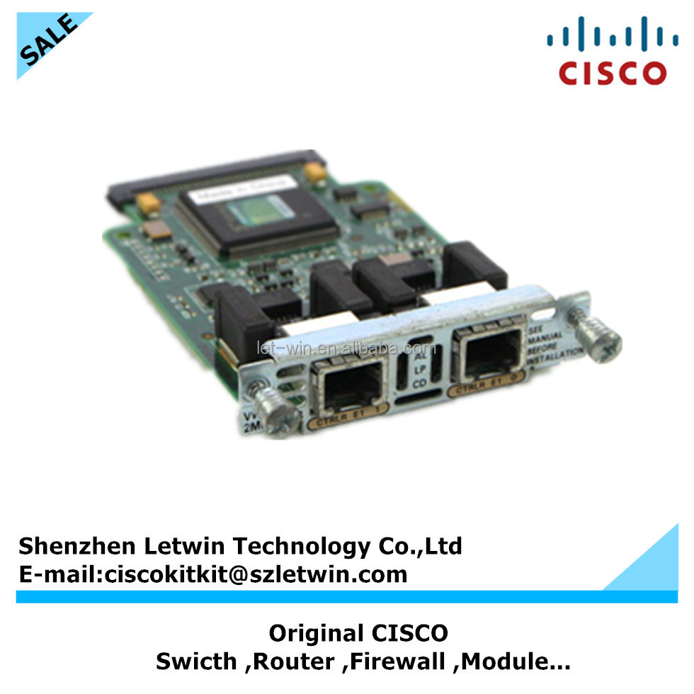 CISCO Original VWIC-2MFT-G703 2ports netwoking module