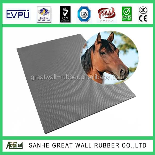 Great Wall Dairy rubber Insertion cows mat rubber dairy comfort mat for horse
