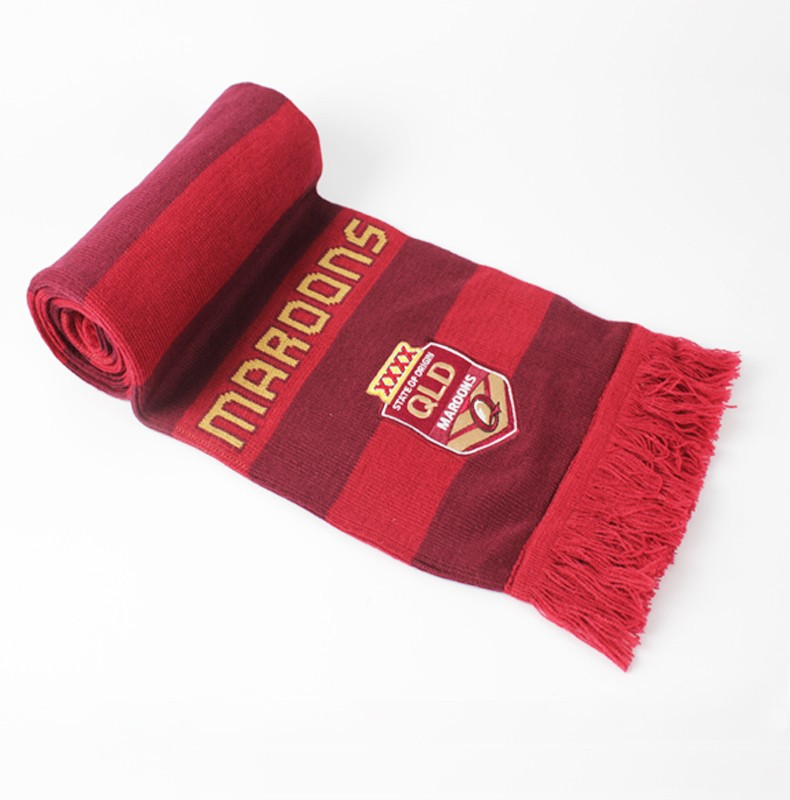Trendy knitting fan scarves manufacturers
