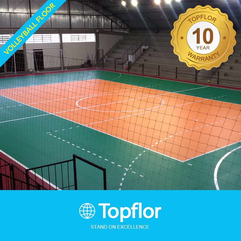 Topflor Portable Volleyball Court Flooring Sports Flooring