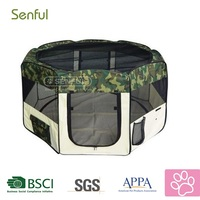 Fabric dog exercise Pet portable playpen dog playpen