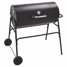 German Grill Barrel Motor Smoker for Outdoor BBQ