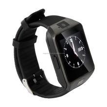 "Manufactory China hot sale Smart watch DZ09 smart android watch phone 1.54"" LCD screen"