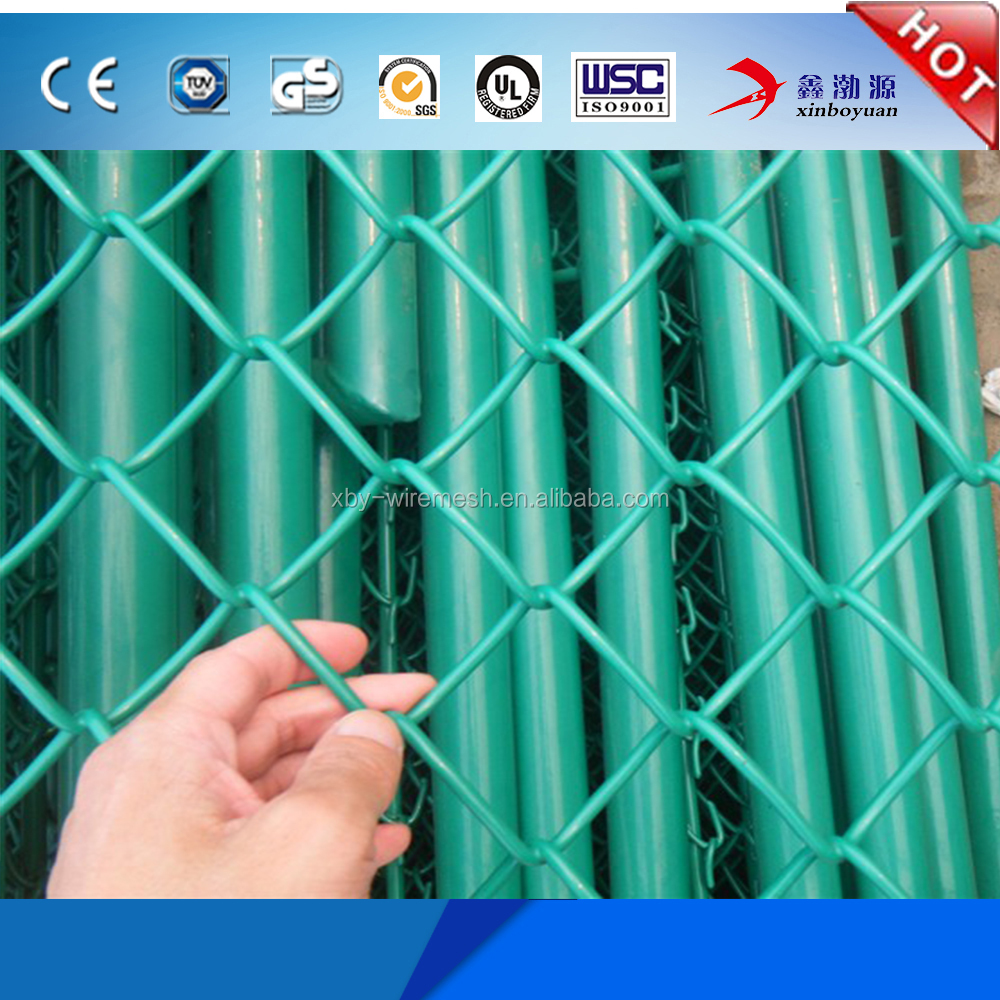 Wholesale removable chain link mesh fence with cheap price