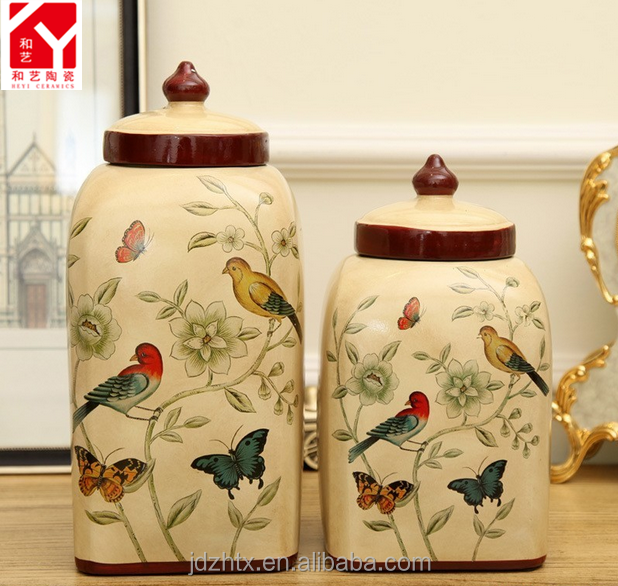 China Supplies Funeral Pet Cremation Urns ceramic material