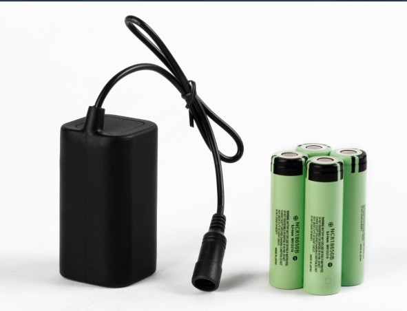 4800mAh 4 cell A Grade Rechargeable Battery Pack For Bicycle Lights
