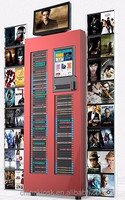 DVD video automatic rental and vending kiosk machine