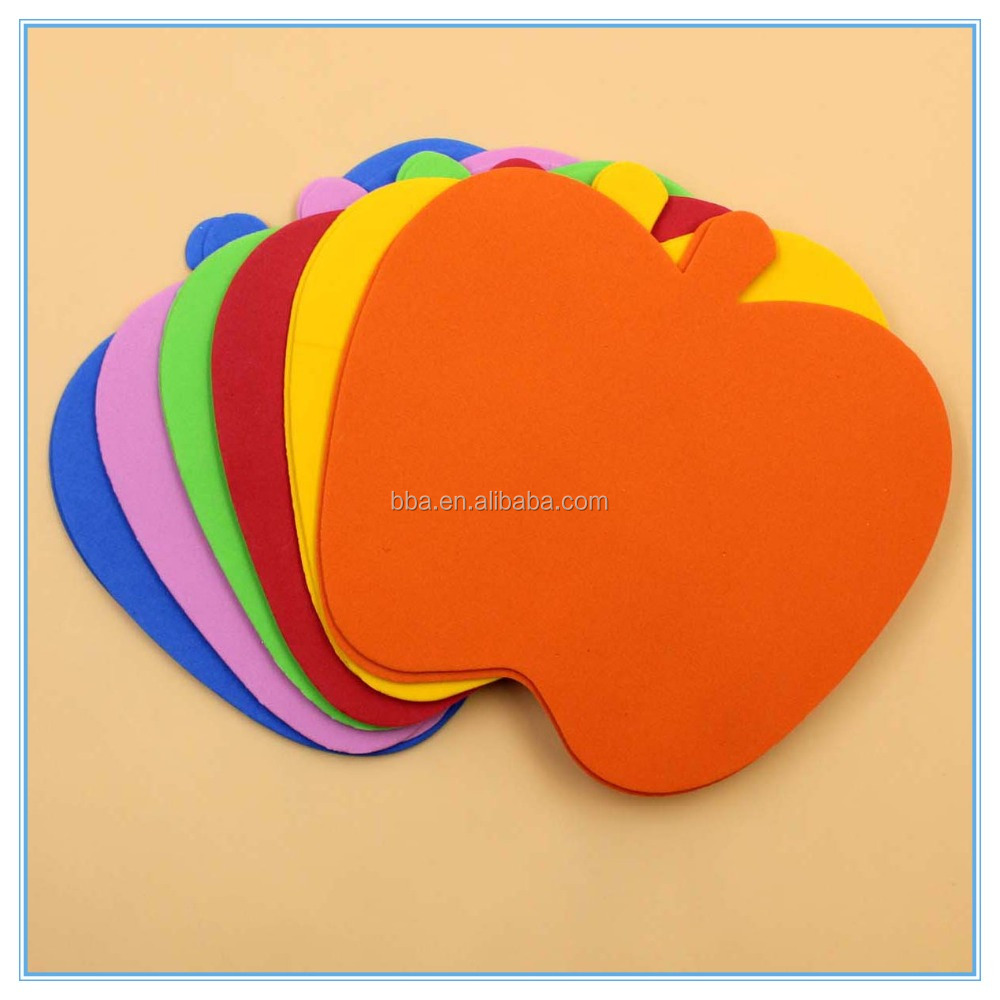 Cut Eva Foam 14cm Apple Shape Crafts for Kids School Education Diy 1.5mm