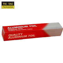 Soft Sliver Catering Food Tin Wrap Aluminium Kitchen Foil Roll