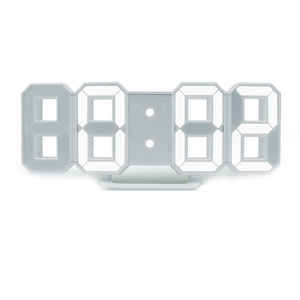 Amazon super hot 3D LED number wall clock with CE&ROHs