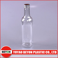 (ZY01-D052) wine bottle shaped plastic bottle
