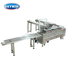 Skywin New Design Two Lane Chocolate/Cream Filling Sandwich Biscuit Machine For Sale