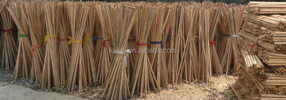 Natural Wood Broom Stick Normal Wooden Brush Handle
