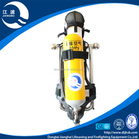 Positive pressure oxygen breathing apparatus exclusive