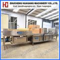 Fruit and vegetable industrial stainless steel cleaning machine