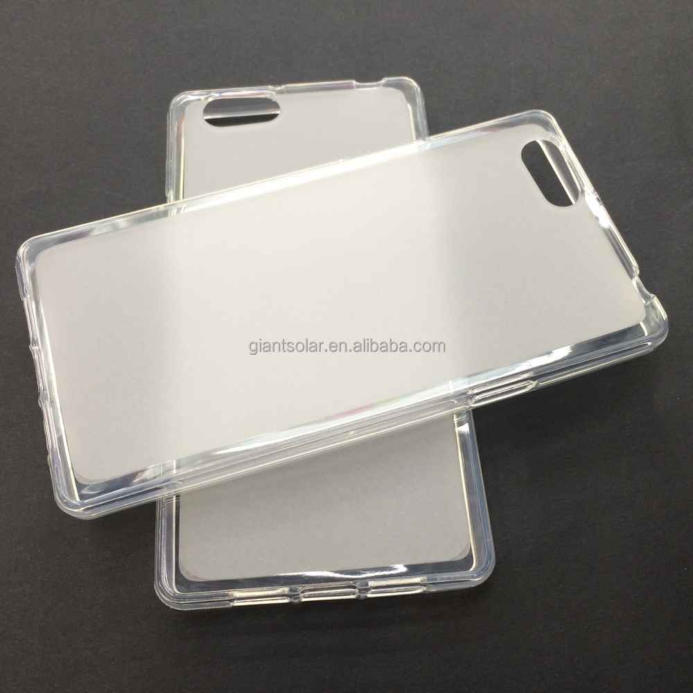 Matte Pudding Soft Gel Case TPU Cover for tianyu E88