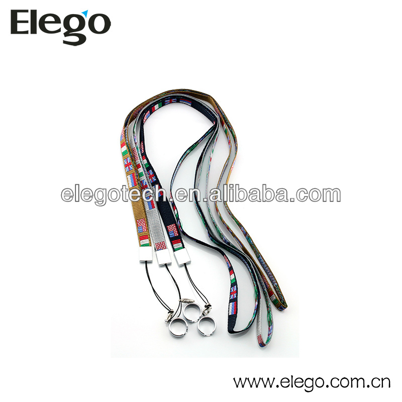 Fashionable EGO Lanyard Ring E Cigarette Necklace Ring