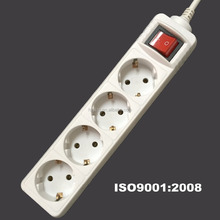 multiple power socket schuko socket with switch