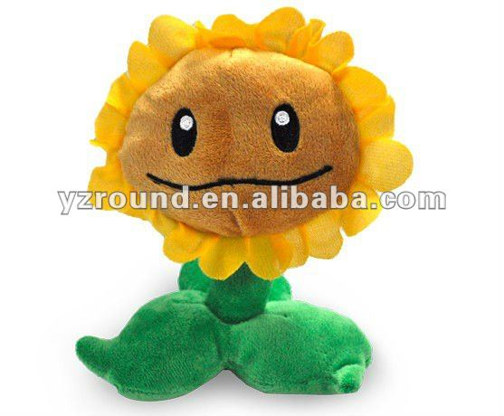 2012 Hot Sale&new products Christmas Fashionable sunflower plush toy