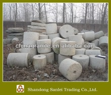 antique granite grind stone