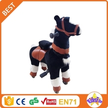 Ridesfun human powered scooter toys wooden moving horse toy human powered toy animal rocking for Thailand market