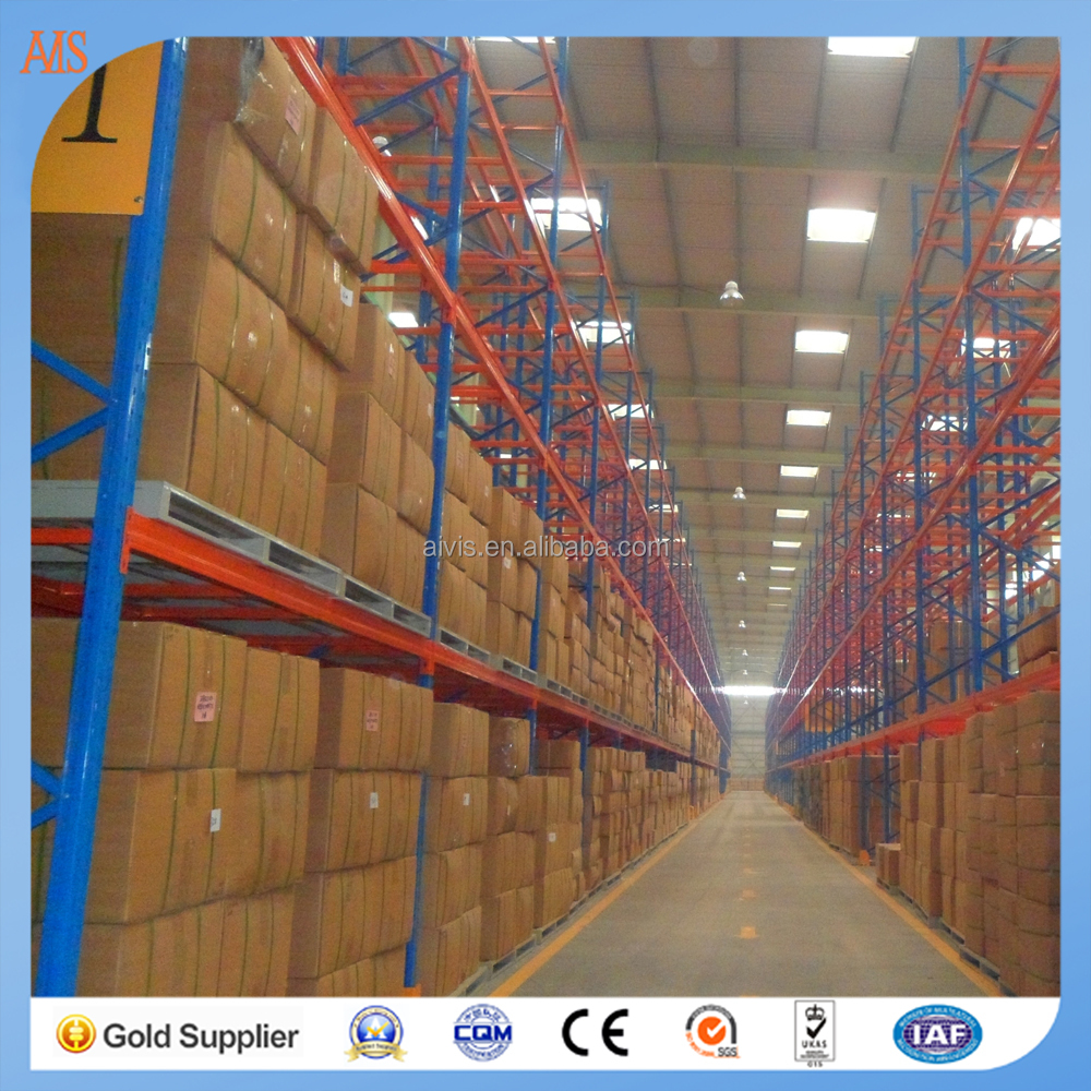 Steel coil storage rack cold storage pallet rack