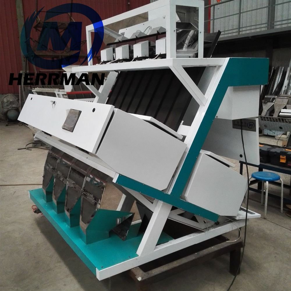 high power LED color sorter of peeling peanuts