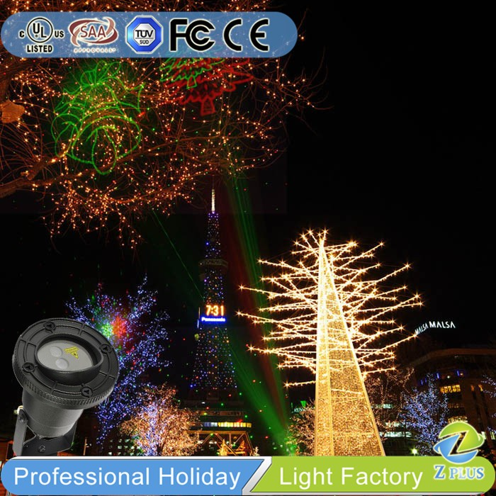 2017 new design home Christmas projector laser light show