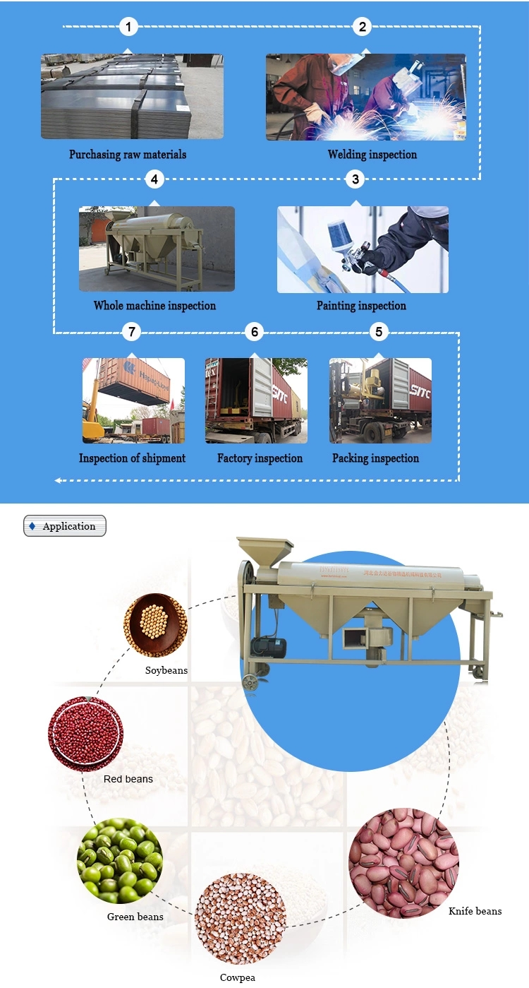 Bean Polisher for Seed/Red Beans Polishing Machine