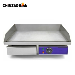 Table Top Cast Iron Electric Griddle With CE Certificate