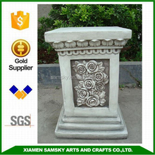 decorative fibercaly roman square pillar design