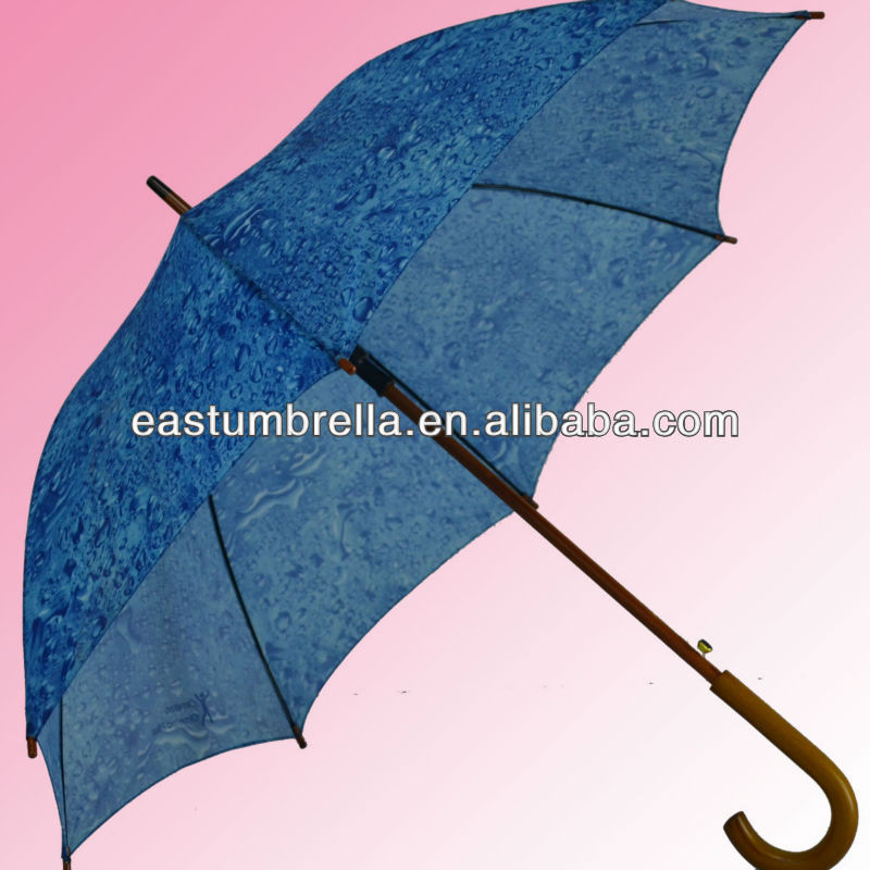 Hot sell 23 inch straight parasol fancy umbrellas in china