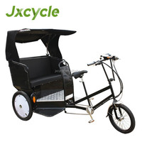 electric pedal cab/ pedicab tricycle rickshaw