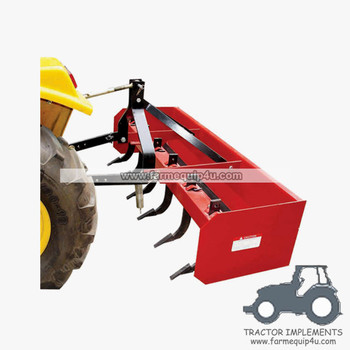 Tractor Implements 3-Point Box Scraper Blade 5ft