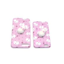 Custom Kneading Squishy Soft Phone Case 3d Silicone Phone Case