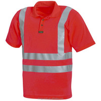 Star SG High Visibility Polo Shirt with Reflective Stripe