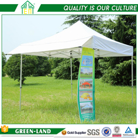 China Manufacturer Offer Outdoor Event Tents Easy Up Gazebo Tent Printing Cover