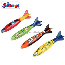 Swimming Pool Dive Swimming Throwing Torpedo Bandits Toy Glides Under Water