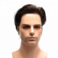 New product Most Natural Super Thin Skin Invisible Toupee For Men