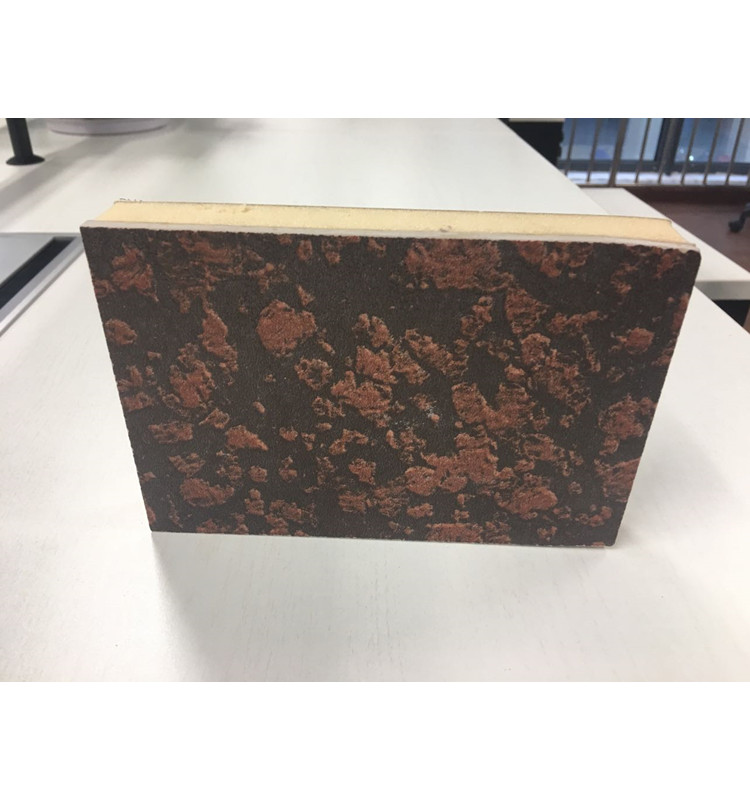 Artificial granite outside wall decorative and PIR insulation panel