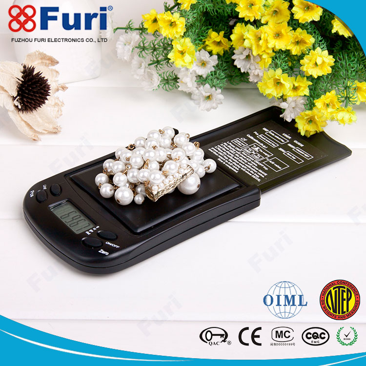 Alibaba Express 1/5000-1/20000 Resolution Pocket Balance Scale, Jewelry 0.01g Digital Pocket Scale