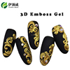 Hot Hot Hot !!! Yidingcheng factory High Quality new UV/LED Gel Paint 3D Emboss Gel Polish for supper Nail Art Designs