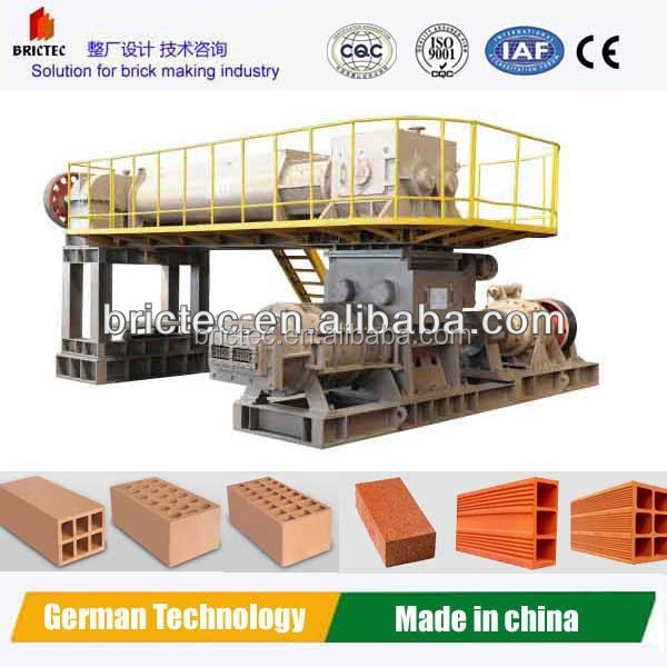 New top quality clay brick machine for small business