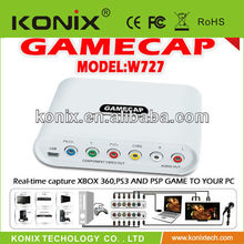 Supporting HD 1080P usb video capture box