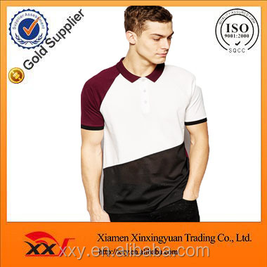 custom color combination mens mesh polo shirt made in vietnam