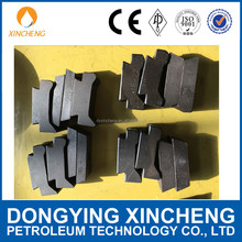 Cheap price Casing power Tong Dies and Slip inserts/power tong jaw