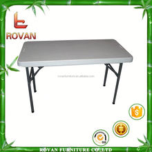 plastic round table with folding leg folding study table