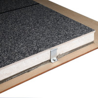 EPS sandwich insulation board fireproof uv coating marble finishing