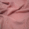 Digital Printed Striping 16mm Silk Cotton Fabric